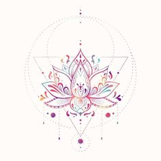 Lotus Prism by Nayla Smith This is a gallery-quality giclée art print on cotton rag archival paper printed with archival inks. The post Lotus Prism by Nayla Smith appeared first on Easy flowers. Bild Tattoos, Love Tattoos, Beautiful Tattoos, Body Art Tattoos, Tattoo Drawings, Tattoos For Women, Script Tattoos, Arabic Tattoos, Tatoos