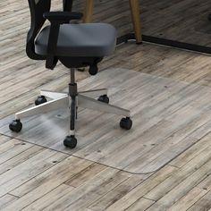 Lorell 69708 Rectangular Chairmat w/ot Lip #69708 #Lorell #TAAMats  https://www.officecrave.com/lorell-69708.html