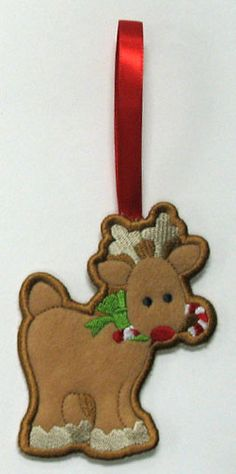 Machine Embroidery Designs at Embroidery Library! Gingerbread Cookies, Machine Embroidery Designs, Towel Holders, Christmas Ornaments, Holiday Decor, Gingerbread Cupcakes, Christmas Jewelry, Christmas Decorations, Hand Towel Holders