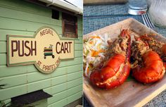 Pushcart in Negril.  Need to try this as well on the next trip.  Miss true Jamaican food.,