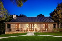 Fabulous barndominium interiors exterior farmhouse with standing seam roof guest house outdoor lighting
