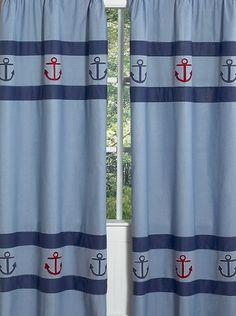 Nautical Nights Sailboat Window Treatment Panels by Sweet Jojo Designs - Set Designs, http://www.amazon.com/dp/B003KW8I36/ref=cm_sw_r_pi_dp_UtBzrb0E4R2W9    $49.99