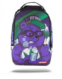 SPRAYGROUND PURPLE HAZE BEAR BACKPACK