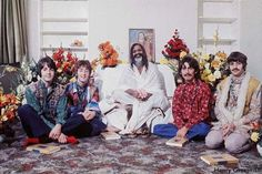 Beatles and Maharishi - Transcendental Meditation