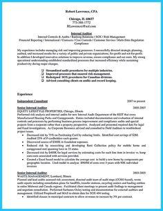 Senior Accountant Resume Format - http://www.resumecareer.info ...