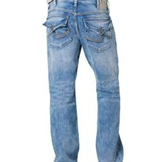 74344589 Men's Gordie jeans Brand new, just don't fit Silver Jeans Jeans Straight Leg