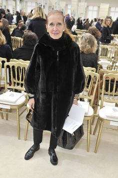 Danielle Steel: PARIS, FRANCE - MARCH Writer Danielle Steel, 800 million books sold worldwide, attends the Chanel show as part of the Paris Fashion Week Womenswear Fall/Winter on March 2016 in Paris, France. (Photo by Rindoff/Le Segretain/Getty Images). Willow Smith, Danielle Steel, Fashion News, Fur Coat, Fall Winter, Women Wear, Chanel, Paris Fashion, Paris France