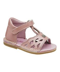Take a look at this Pink Cocorico Sandal - Kids by Kickers on #zulily today!