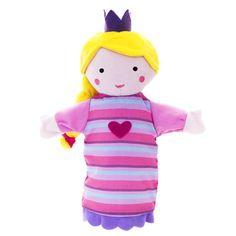 Marioneta princesa | EUREKAKIDS | ¡Princesas, dragones y caballeros de brillante armadura! Representa tu propio cuento con esta marioneta de la bella princesa vestida de rosa. Con ella podrás imaginar todas las aventuras que quieras y contárselas a tu peque.
