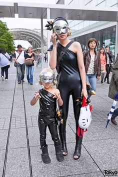 "2012 ""Born This Way Ball"" - Lady Gaga Fan Fashion in Japan. photos of the ""Little Japanese Monsters"" in the link. Japanese Streets, Japanese Street Fashion, Tokyo Fashion, Lady Gaga Costume, Japanese Monster, Japan Picture, Japan Street, Mom Daughter, Cosplay Costumes"