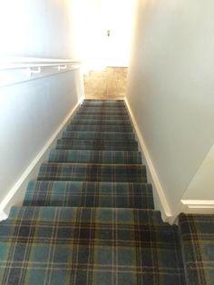 Lovely bit of tartan @peter allen flooring lets settle England