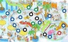 Interactieve praatplaat: Het zwembad (getekend door Dagmar Stam). by Paula Prevoo