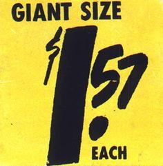 Yellow Warhol Giant Size