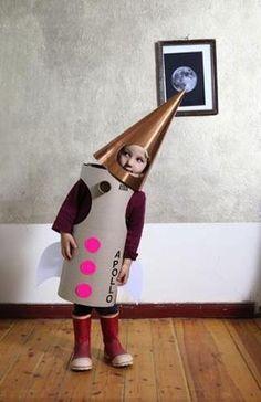 DIY Apollo Rocket Halloween Costume