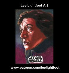 Definitely one of my favourite Star Wars portraits.