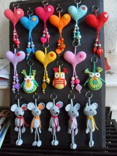 Hester's Creations: keychains