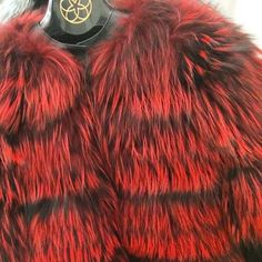 Limited edition red fox jacket available @harrods!