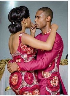 The most classic collection of beautiful traditional and ankara styles and designs for couples. These ankara styles collections are meant for beautiful African ankara couples Couples African Outfits, African Dresses For Women, African Print Dresses, Couple Outfits, African Attire, African Wear, African Fashion Dresses, African Women, Ghanaian Fashion