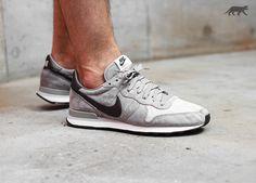 Nike Internationalist Leather (Mine Grey / Deep Pewter - Lunar Grey)
