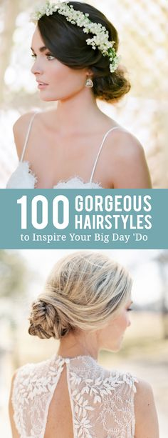 Wedding Hairstyles Updo First comes the dress. - First comes the dress. Wedding Looks, Boho Wedding, Perfect Wedding, Dream Wedding, Wedding Day, Garden Wedding, Wedding Hair And Makeup, Bridal Hair, Hair Makeup