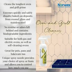 Norwex Products, Norwex Biz, Norwex Cleaning, Natural Cleaning Products, Cleaning Recipes, Cleaning Hacks, Norwex Consultant, Stainless Steel Oven, Gas And Electric