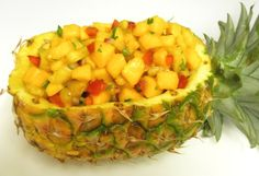 Pineapple, Mango, and Corn Salsa: I think I'd do it without the corn.
