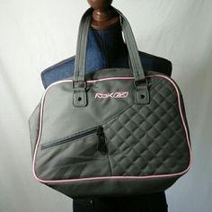 Rebok sport bag Gray with pink trim Rebok sport bag rebok Bags Totes