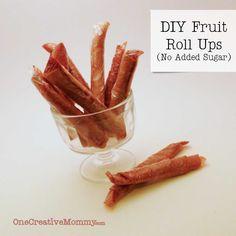 DIY Fruit Roll Ups