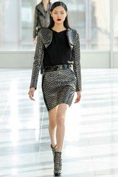 London Fashion Week: Antonio Berardi. Fall/Winter 2013/2014