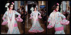 "Modelo TOMILLO, colección ""Todas mis flamencas"", www.facebook.com/elajoli"