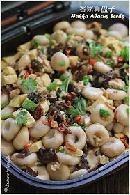 Cuisine Paradise | Singapore Food Blog | Recipes, Reviews And Travel: Hakka Abacus Seeds - 客家算盘子