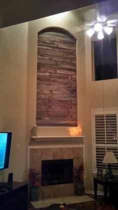 Sparta Decor, Wood, Barnwood Wall, Barn Wood, Wall, Home Decor, Fireplace