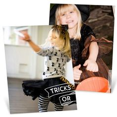 Halloween photo cards from #peartreegreetings! Share your perfect photo with family & friends this Halloween!