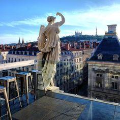 La terrasse de folie des Muses de l'Opéra restera ouverte tout l'été