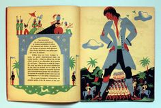 My Vintage Avenue !!! 50's and 60's illustrations !!!: Voyages de Gulliver, illustrated by Maurice Tranchant in 1930.