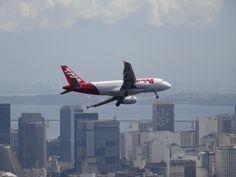 Flight over Rio de Janeiro.