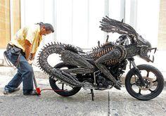 Alien motorcycle - (motorcycle).