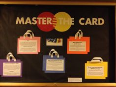 Master The Card - safe shopping and credit card debt education.