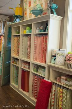 Sewing room design ideas fabric storage 27 Ideas for 2019