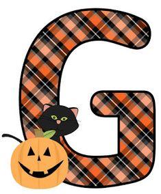 Halloween Letters, Halloween Ii, Halloween Clipart, Holidays Halloween, Halloween Pumpkins, Happy Halloween, Halloween Decorations, Halloween Tricks, Monogram Alphabet