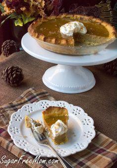 Low Carb Sugar-Free Pumpkin Pie