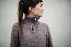 Urban Polar Sweater // women pattern by Witre Design Warm Sweaters, Sweaters For Women, Polaroid, Budget Planer, Gold Labels, Unisex, Models, Perfect Fit, Slim