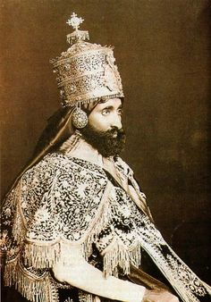 His Imperial Majesty Haile Selassie Coronation King of Kings Lord of Lords Conquering Lion of Judah Rastafari Art, History Of Ethiopia, Rastafarian Culture, Ethiopia Travel, King Of Kings, King 3, Haile Selassie, African Royalty, 18th Century Costume