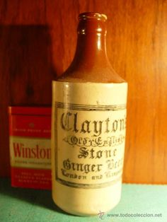 Kingston, Ceramic Jars, Ginger Beer, Old English, Whiskey Bottle, Stoneware, Pottery, London, Liqueurs