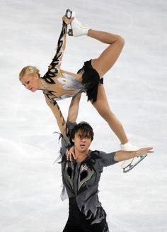 Tatiana VOLOSOZHAR and Maxim TRANKOV (RUS)