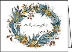 Swedish thank-you note    ---    Jana Johnson Schnoor . (319) 338-1882 . jjschnoor@aol.com ALL IMAGES © Jana Johnson Schnoor
