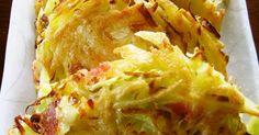 混ぜて焼くだけ,うまいチーズ焼きができます.バクバク食べれちゃう.