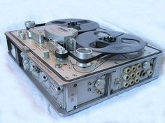 Stellavox SP8 pro tape recorder photo in the Reel2ReelTexas.com vintage recording collection