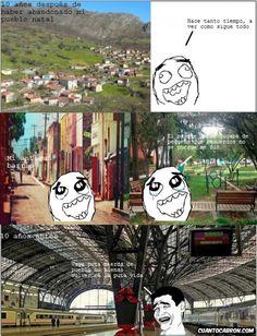 ★★★★★ Memes chistosos para face: Mi pueblo natal I➨ http://www.diverint.com/memes-chistosos-face-pueblo-natal/ →  #imágenesdelosmemesenespañol #imágenesdememeschistososparafacebook #memeschistososchile #memeschistososchilenos #memesenespañol