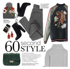 """""""60 second style"""" by punnky ❤ liked on Polyvore featuring Le Chapeau by Alakazia, Cheap Monday, Iris & Ink, Haute Hippie and Garance Doré"""